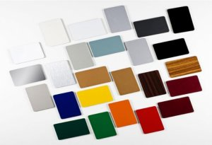 Chapa Alumínio Composto ACM Tecbond Poliéster