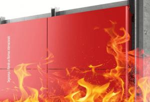 Chapa de ACM ACM Tecbond FR® - Fire Resistant